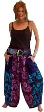 LotusTraders PANT HAREM GAUCHOS PATCH POCKET MADE TO ORDER FASHION CUTE K329