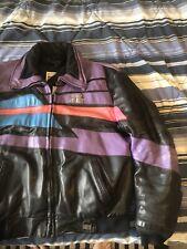 Polaris Snowmobile Leather Jacket Hein Gericke Used Vintage Unisex Xl