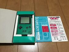 GameBoy Pocket console Green Color with BOX and Manual