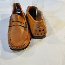 $475 TOD'S GOMMINO DRIVING SHOE LOAFER MOCCASIN BROWN LEATHER 35.5 5.5 5-1/2