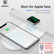 Wireless Charger Charging Pad Mat Receiver F iPhone Xs Max XR 8 Samsung Note 9 8