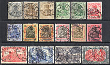 Pictorial Cancellation Used European Stamps