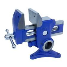 3.5 in. multi-angle vise | yost bench cast iron swivel new vice clamp mountable
