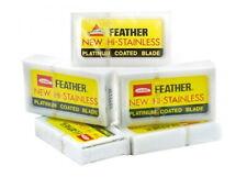 50 Feather Hi-Stainless Platinbeschichtete Razor Blades For Safety Razor Japan
