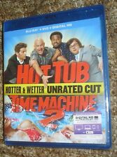 Hot Tub Time Machine 2 (Blu-ray/DVD, 2015, 2-Disc Set, Includes Digital Copy)NEW