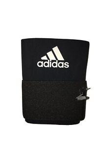 adidas Pro Series Baseball Wrist Support Strap Guard Sleeve Black Medium MLB