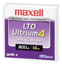 1 MAXELL LTO Ultrium 4 800GB 1.6TB Data Tape Storage Cartridge Neuve New Sealed