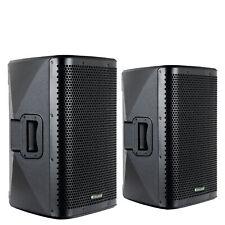 """2 aktive PA-Lautsprecher mit 10"""" Woofer, Bluetooth und 800W, auch als Monitor"""