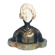 Magnificent Art Nouveau French Bronze on Marble By Delagrange Signed Numbered 26