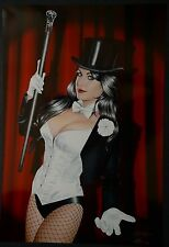 Zatanna Art Print Signed by Don Monroe