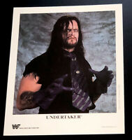 WWE UNDERTAKER P-250 OFFICIAL LICENSED AUTHENTIC 8X10 PROMO PHOTO VERY RARE