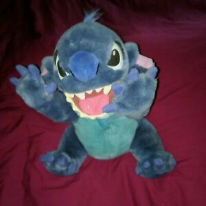 "Large Plush 16"" Disney Lilo Stitch Blue Alien Dog"