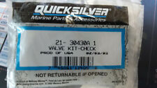 Quicksilver Fuel pump kit w/check valves for Mercury outboard motors 21-30430A1