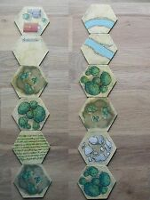 5 HEXS TERRAIN TILES /BATTLE CRY RICHARG BORG /9