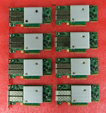 Lot of 8 - SolarFlare S7120 10GbE Dual-Port Pcie Network Adapter - Low Profile