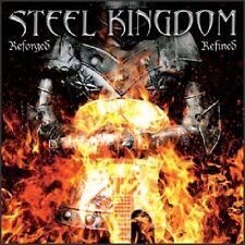 STEEL KINGDOM – Reforged, Refined (US POWER METAL*PRIVATE*M.CHURCH*SAVATAGE)