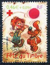 STAMP / TIMBRE FRANCE OBLITERE N° 3469  FETE DU TIMBRE / BOULE ET BILL