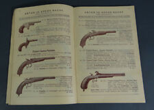 1897 VIENNA AUSTRIAN ANTON KREBS HUNTING Rifles Guns Tools ILLUSTRATED CATALOG