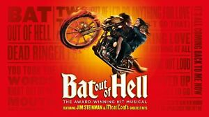 Vintage Meat Loaf Bat Out of Hell Hard Rock Print Poster Wall Art Picture A4 +