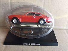 "STERBEN CAST "" FIAT DINO 2000 COUPE ' "" 1/43 HACHETTE AUTO ITALIENISCH"