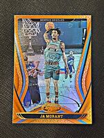Ja Morant 2020-21 Panini NBA Certified Orange Parallel SP 98/99 | Grizzlies