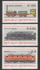 Austria 1977 Trains/Steam/Railways/Transport 3v n23122