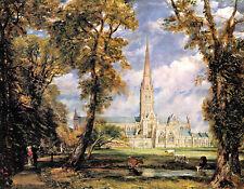 John Constable - Salisbury Cathederal   - 24'  CANVAS