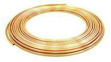 4MM MICROBORE COPPER PIPE/TUBE X2 METRES DIY//GAS/WATER/PETROL//CARAVAN/CAMPER
