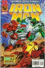 Iron Man # 317 (flip-book, War Machine, 52 pages) (USA, 1995)