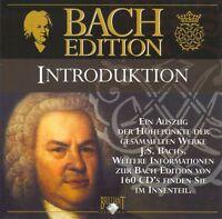 Johann Sebastian Bach - BACH EDITION INTRODUKTION CD Klassische Musik Klassik