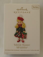 Hallmark 2011 Madame Alexander Yuletide Shopper #16 in Series Christmas Ornament