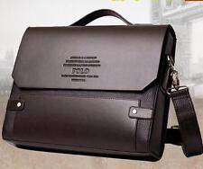 Men Designer Bag Fashion PU Leather Bags Briefcase Business Messenger Shoulder