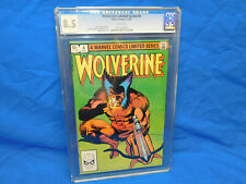 Wolverine Limited Series #4 |  CGC 8.5 White Pages | Marvel 1982 |