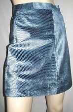 Mini-jupe en velours JEAN VERTICAL, douce & brillante, taille S Neuve+++