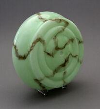 Lampenschirm Art Deco Glas marmoriert - . -(66)