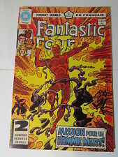 FANTASTIC FOUR 123  /  124  B&W French comic Heritage Marvel 233 234