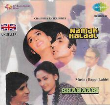 NAMAK HALAAL / SHARAABI - 2 FILM SONGS IN 1 CD - NEW BOLLYWOOD SOUND TRACK CD