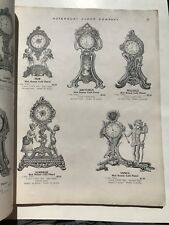 1930's Waterbury Clock Company Catalog-- 100 Pages of Clocks!