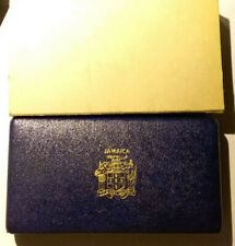1970 Coinage of Jamaica 6 Coin Proof Set Franklin Mint w/COA  MB/DXCS