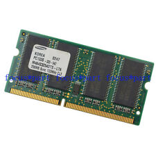 Samsung 256MB (1X256MB) PC133 144PIN NON-ECC SDRAM Memory RAM SO DIMM 3.3V