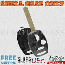 for Honda Accord Civic CR-V Fit Keyless Remote Car Key Fob Shell Case 4b n/s