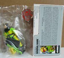 G.I.Joe 1993 General Hawk, Commander, Mint in Mail-Away Bag figure, No sonic jet