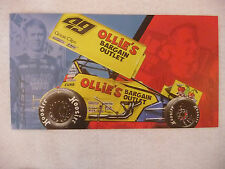 2015 Brad Sweet 6 X 11 World Of Outlaws Sprint Car Driver Photo Card