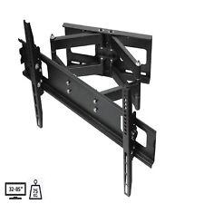 "TV Bracket Wall Mount 32"" - 85"" 4K 3D LCD LED VESA 75kg HUGE SIZE Full Motion"