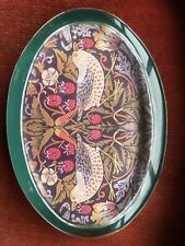 Arts & Crafts PAST TIMES Glass Paperweight Strawberry Thief. William Morris New