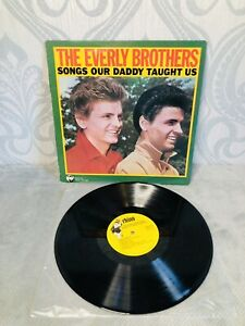 """THE EVERLY BROTHERS """" SONGS OUR DADDY TAUGHT Rhino Records"""