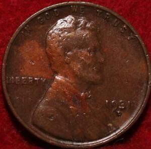 1931-D Denver Mint Copper Lincoln Wheat Cent