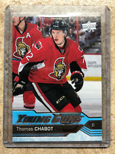 16-17 UD Upper Deck YG Young Guns Rookie RC #488 THOMAS CHABOT