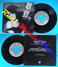 LP 45 7'' MARIA VIDAL Body rock ASHFORD & SIMPSON Do you know who am i*cd mc dvd
