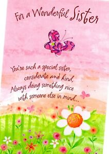 Happy Mother's Day Greeting Cards Sister Wonderful Special Thinking of You